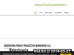 Miniaturka domeny medycynapracylomza.pl