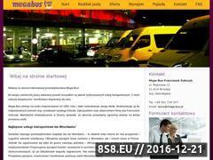 Miniaturka domeny www.mega-bus.pl
