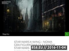 Miniaturka domeny www.mega-gry.pl