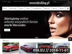 Miniaturka mercedesblog.pl (Blog o marce Merdedes)