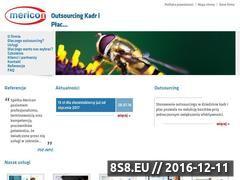 Miniaturka domeny www.mericon.pl