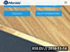 Miniaturka domeny www.merida.com.pl