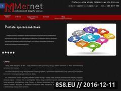 Miniaturka domeny mernet.pl