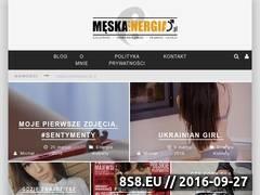 Miniaturka meskaenergia.pl (Blog o lifestyle i uwodzeniu kobiet)