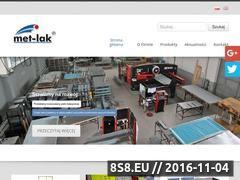 Miniaturka met-lak.com.pl (Blat na stół warsztatowy i ławki do szatni)