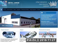 Miniaturka domeny www.metal-jawor.pl