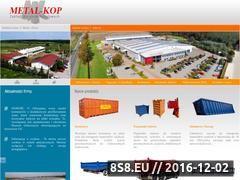 Miniaturka domeny www.metal-kop.pl
