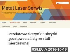 Miniaturka domeny metal-laser.pl