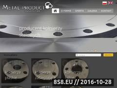 Miniaturka domeny www.metal-product.pl