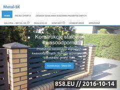 Miniaturka Ogrodzenia, konstrukcje stalowe i suszarnie (metal-sk.xaa.pl)