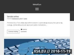 Miniaturka www.metalgun.pl (Sklep z replikami ASG w Warszawie)