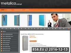 Miniaturka domeny www.metalica.com.pl
