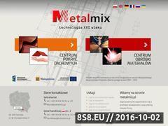 Miniaturka domeny www.metalmix.pl
