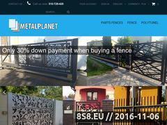 Miniaturka domeny www.metalplanet.pl