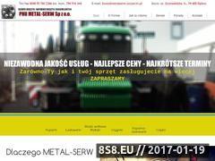 Miniaturka metalserw.szczecin.pl (Firma zapewnia usługi związane z serwisem maszyn)