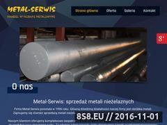 Miniaturka domeny metalserwis.kielce.pl