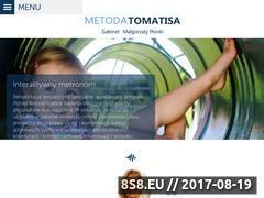 Miniaturka metodatomatisa.com (Pomoc w leczeniu dzieci z zaburzeniami słuchu)