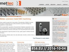 Miniaturka domeny www.mettec.pl
