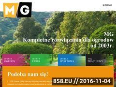 Miniaturka domeny www.mg-ogrody.pl