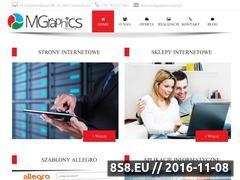 Miniaturka Szablony allegro, strony WWW i sklepy WWW (mgraphics.com.pl)