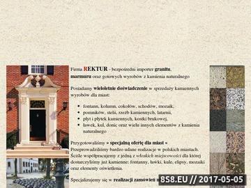 Zrzut strony Dla miast. GRANIT, Marmur, Fontanny, Bramy, Rzeźby, Ławki i inne
