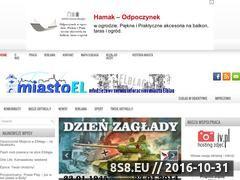 Miniaturka domeny miastoel.cba.pl