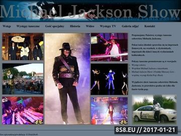 Zrzut strony Michael Jackson - show
