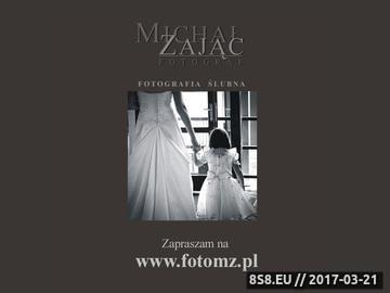Zrzut strony Fotograf ślubny