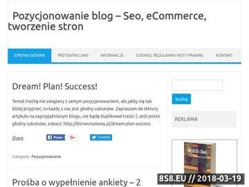 Zrzut strony ..:: MICHAŁ POGRUDKA ::.. e-commerce, webdesign