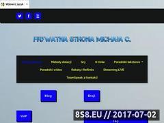 Miniaturka michalc.pl (Strona z poradnikami Android, Windows i Linux)