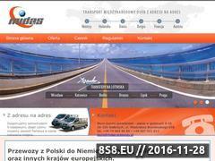 Miniaturka domeny www.midas-przewozy.pl