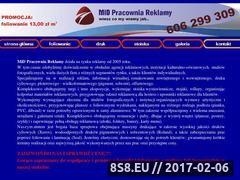 Miniaturka domeny www.midreklama.com.pl