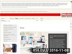 Miniaturka domeny miele-shop.pl