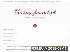 Miniaturka miesiaczka.net.pl (Wszystkie informacje na temat miesiączki)
