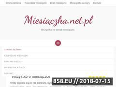Miniaturka domeny miesiaczka.net.pl