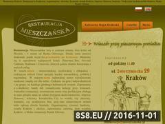 Miniaturka domeny www.mieszczanska.krakow.pl
