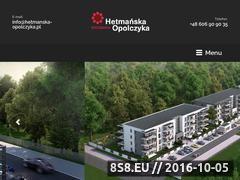 Miniaturka domeny www.mieszkania-hetmanska.pl