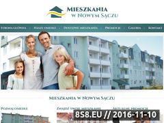 Miniaturka domeny www.mieszkania-nowysacz.pl