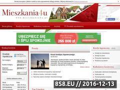 Miniaturka domeny www.mieszkania4u.pl