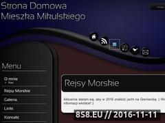 Miniaturka mieszkomikulski.pl (Rejsy morskie - relacje, opisy i zdjęcia)