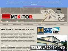 Miniaturka domeny www.mik-tor.pl
