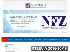 Miniaturka domeny www.mikomed.pl