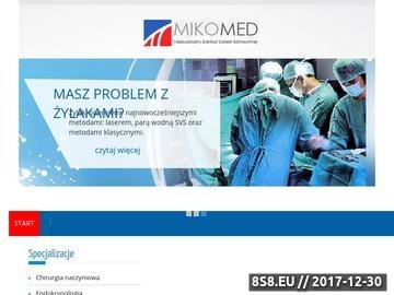 Zrzut strony Chirurg naczyniowy Łódź