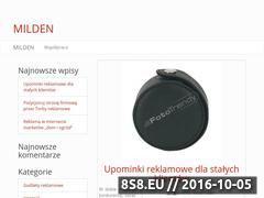 Miniaturka domeny www.milden.pl