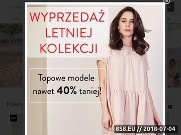 Zrzut strony Polska Projektantka Sukienek