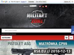 Miniaturka domeny military-zone.sklep.pl