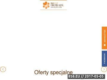 Zrzut strony Konferencje na Mazurach, Hotel Miłomłyn Zdrój