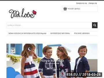 Zrzut strony Mi Love - ubranka dziecięce Mayoral