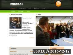 Miniaturka domeny www.mindball.com.pl