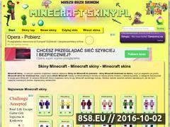 Miniaturka domeny minecraft-skiny.pl